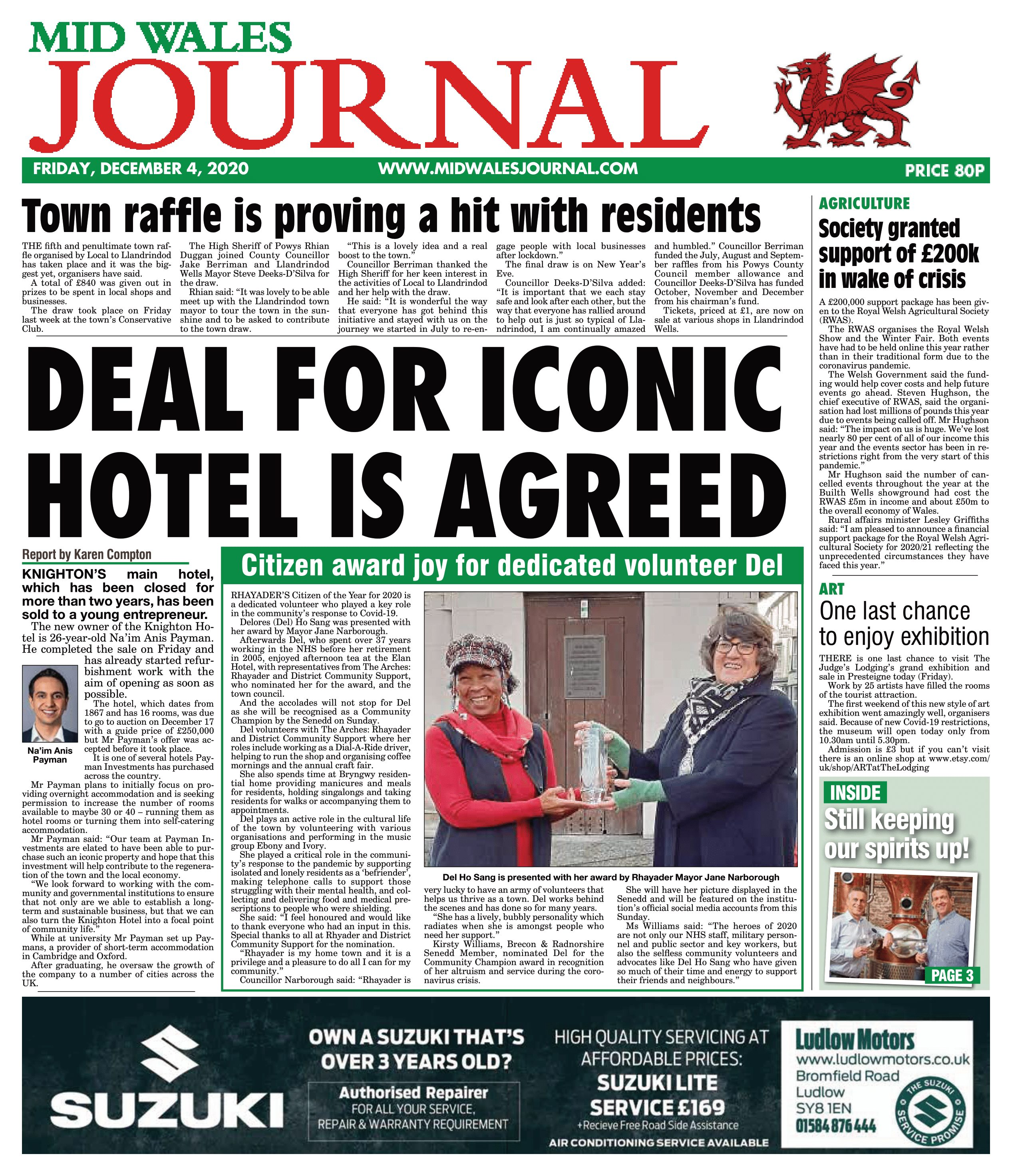 Knighton Hotel Featured in Local News